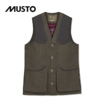 Musto Stretch Technical Gtx Tweed Waistcoat Thornbury