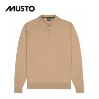 Musto Polo Collar Knit Tan