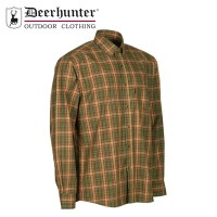 Deerhunter Mitchell L/S Shirt Red Check