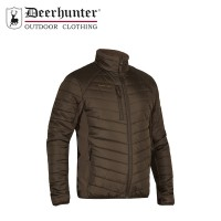 DEERHUNTER MOOR PADDED JACKET W.SOFTSHELL TIMBER