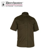 Deerhunter Caribou Hunting Shirt S/S Fallen Leaf