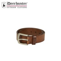 Deerhunter Leather Belt Cognac Brown