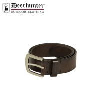 Deerhunter Leather Belt Dark Brown