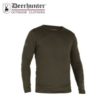 Deerhunter Greystone T Shirt L/S Timber