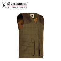 Deerhunter Woodland Waistcoat Moss Tone