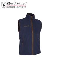 Deerhunter Wingshooter Fleece Waistcoat Graphite Blue