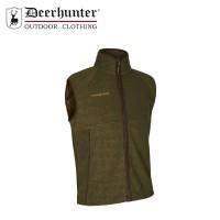 Deerhunter Wingshooter Fleece Waistcoat Graphite Green