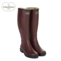 Le Chameau Giverny Jersey - Cherry (Ladies)