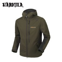 Harkila Lagan Jacket Willow Green/Deep Brown