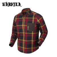 Harkila Amlet L/S Shirt Red/Black Check