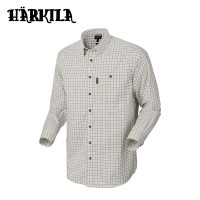 Harkila Stenstorp Shirt Dark Apple Check Button Under