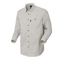 Harkila Stenstorp Shirt Dark Apple Check Button Under