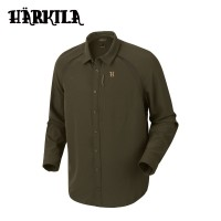 Harkila Herlet Tech L/S Shirt Willow Green