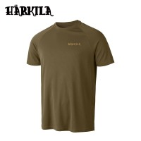 Harkila Herlet Tech S/S T Shirt Light Khaki