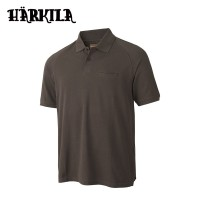 Harkila Ph Range S/S Polo Slate Brown