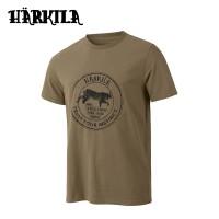 Harkila Wildlife Lynx S/S T Shirt Khaki