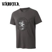 Harkila Wildlife Eagle S/S T Shirt Mulch Grey
