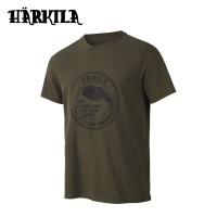 Harkila Wildlife Bear T Shirt Willow Green