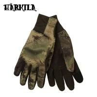 Harkila Lynx Fleece Gloves Axis Msp Forest Green