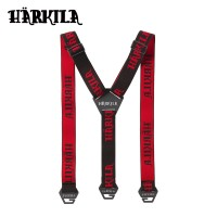Harkila Tech Braces Shadow Brown/Red One Size