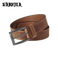 Harkila Arvak Leather Belt Dark Sand