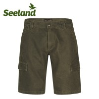 Seeland Flint Shorts Dark Olive