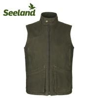 Seeland Flint Waistcoat Dark Olive