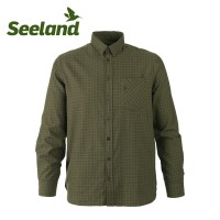 Seeland Clayton Shirt Ivy Green Check