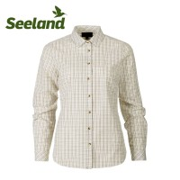 Seeland Claire Lady Shirt Tofu Check