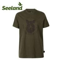 Seeland Flint T Shirt Dark Olive