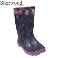Sherwood Forest Lifton Ladies Wellingtons Indigo/Paradise Spot