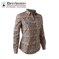 Deerhunter Lady Ashley Shirt Blue Pattern