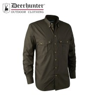 Deerhunter Clark Shirt Dark Elm