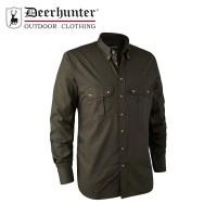 Deerhunter Clark Shirt Dark Elm