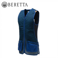 BERETTA DT11 COTTON SLIDE VEST BLUE NAVY