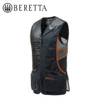 Beretta Sporting Vest Black And Orange