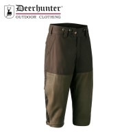 Deerhunter Marseille Leather Mix Breeks Walnut