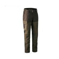Deerhunter Marseille Leather Trousers Walnut