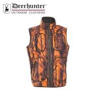 Deerhunter Bonded Fleece Waistcoat Orange Gh Camo
