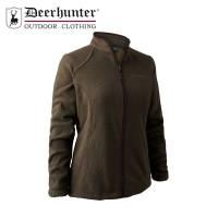 Deerhunter Lady Josephine Fleece Jacket Graphite Green