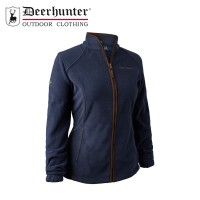 Deerhunter Lady Josephine Fleece Jacket Graphite Blue