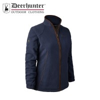 Deerhunter Lady Josephine Fleece W. Membrane Graphite Blue