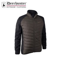 Deerhunter Moor Padded Jacket W. Knit Brown Leaf