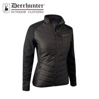Deerhunter Lady Caroline Padded Jacket Brown Leaf