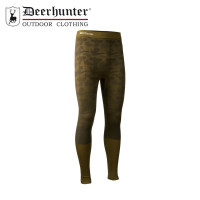 Deerhunter Camou Wool Long Johns Beech Green