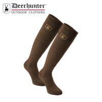 Deerhunter Wool Socks Long Green Leaf