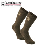 Deerhunter Wool Socks Short Green Leaf