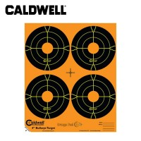 Caldwell Orange Peel 4 Inch Bullseye Targets