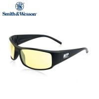 Smith And Wesson Thunderbolt Full Frame Shooting Glasses Matte Black Frame