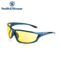 Smith And Wesson Major Full Frame Shooting Glasses Blue Frame